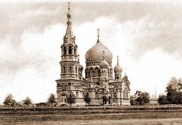Успенский кафедральный собор — главный храм Белой Сибири. Омск, зима 1919 г.
