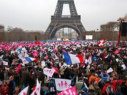 Протесты против однополых браков