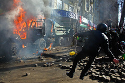 «Мирный» протест