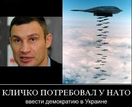 Кличко призвал Евросоюз к военной интервенции