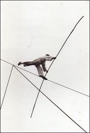 Изис Бидерманис. Канатоходец. 1950 г.