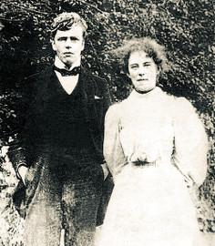 Гилберт и Франсис после обручения