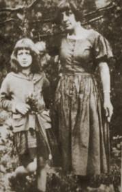 Цветаева с дочерью