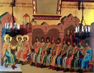 Великий князь Владимир Святославович с сыновьями