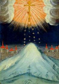 Явление на небе Креста Господня в Иерусалиме
