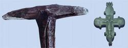 Посох Пересвета. Рязанский кремль Крест-мощевик преподобномученика Александра Пересвета