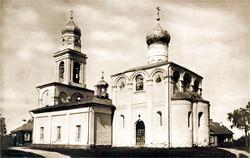 Храм Рождества Пресвятой Богородицы в Старом Симонове. Здесь похоронены Пересвет и Ослябя