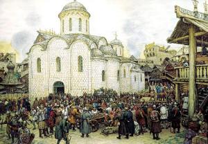 Оборона Москвы от нашествия хана Тохтамыша