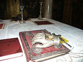 Десная рука свт. Василия Великого