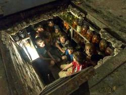 Одна из фотографий, сделанных Андреа Рокелле в осажденном Славянске