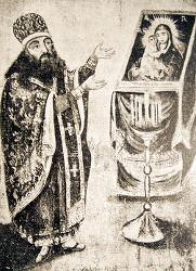 «Образ Святаго Тихона, новаго чудотворца Задонскаго» написан по видению Якова Машонова