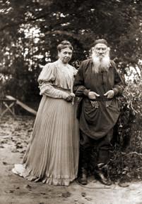 Лев Толстой и Софья Андреевна