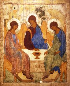 Троица преподобного Андрея Рублёва