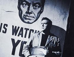 Фотография со съемок фильма «1984»