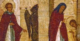 Изгнание бесов молитвами преподобного Сергия