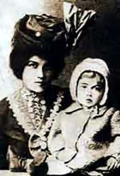 Жена и ребенок В.Ф. Войно-Ясенецкого