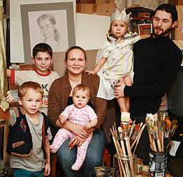 Семья Татьяны Чувашевой