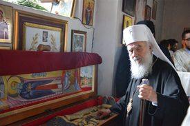 Обретение мощей преподобного Иустина (Поповича)