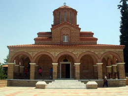 Исихастирий св. ап. Иоанна Богослова, основанный старцем Паисием. Суроти, Греция