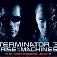 Рекламный плакат фильма «Терминатор-3: Восстание машин»