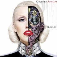 Обложка альбома Кристины Агилеры. Наполовину человек, наполовину машина
