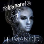 Обложка альбома Tokio Hotel. Наполовину человек, наполовину машина