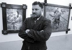 Военный художник Павел Рыженко