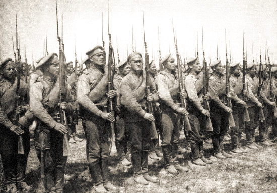 Российские солдаты Первой мировой