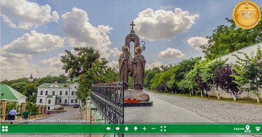 Виртуальный 3D тур по Киево-Печерской Лавре