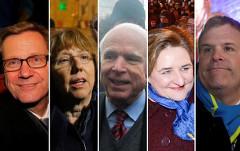 Представители западной «демократии» на Евромайдане