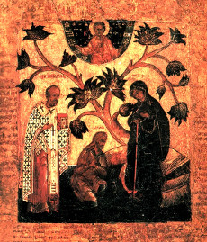 Беседная икона Божией Матери