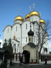 Успенский собор в Никольском. Пасха 2009
