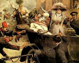 Убийство эрцгерцога Франца Фердинанда и его жены