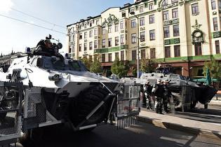 Гей-парад в Белграде прошел под охраной БТР