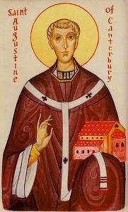 Святитель Августин (иконописец Айдан Харт)