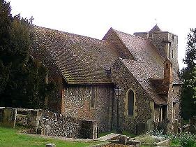 Церковь св. Мартина в Кентербери — одно из старейших церковных зданий в Англии