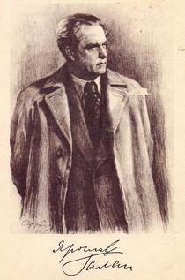 Грузберг. Портрет Ярослава Галана