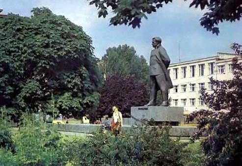 Памятник Ярославу Галану