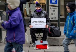 Бездомный в Норвегии