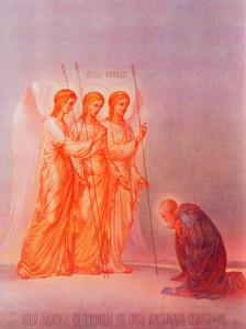 Явление Троицы преподобному