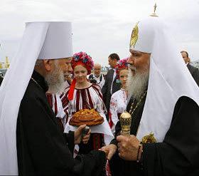 Алексий II и митрополит Владимир