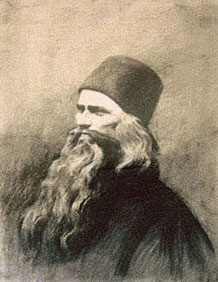 Силуан Афонский. Портрет