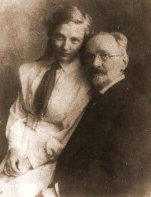 В.В.Розанов с дочерью