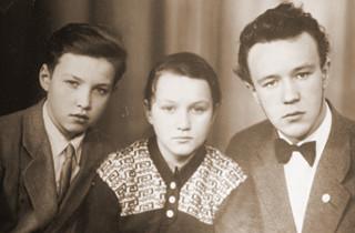 Володя, Лена и Николай Гундяевы