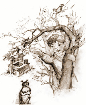 Девочка и сверчок