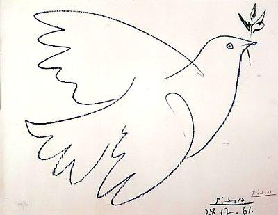 Голубка мира Пикассо