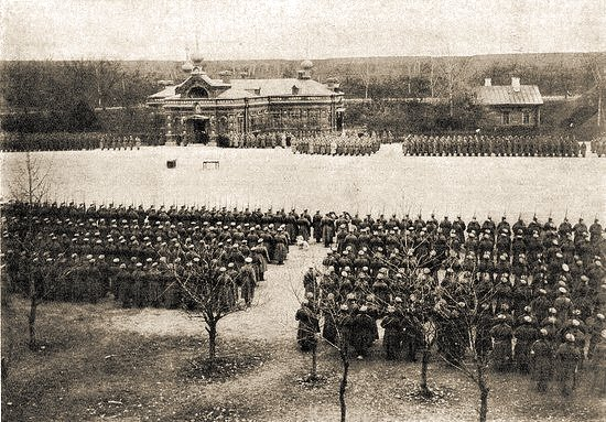 Гарнизон крепости Осовец