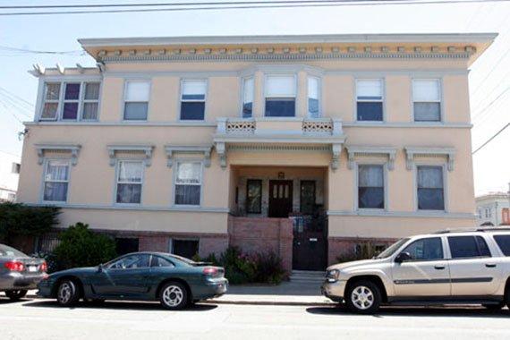 Приют свт. Тихона Задонского вСан-Франциско, где онсуществовал после эвакуации изШанхая.