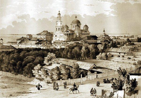 Казанский Богородицкий монастырь, Казань