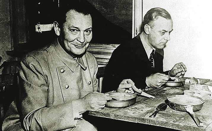 Герман Геринг и Альфред Розенберг